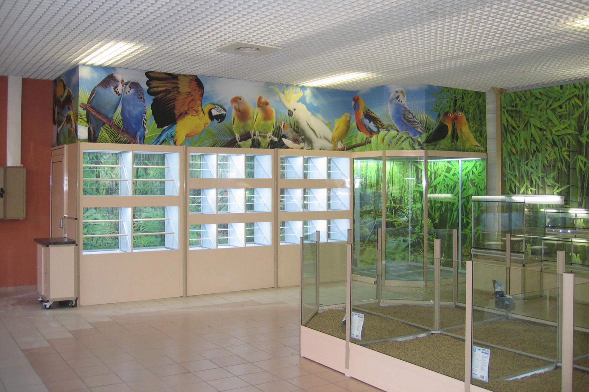 Volieres&cages oiseaux