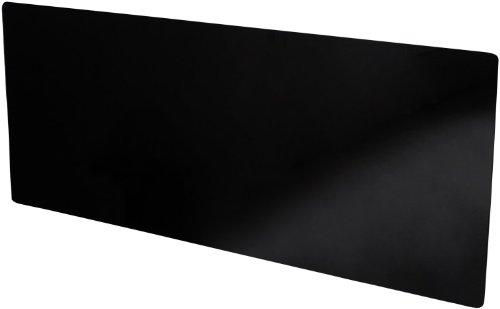 Verre noir 100% opaque